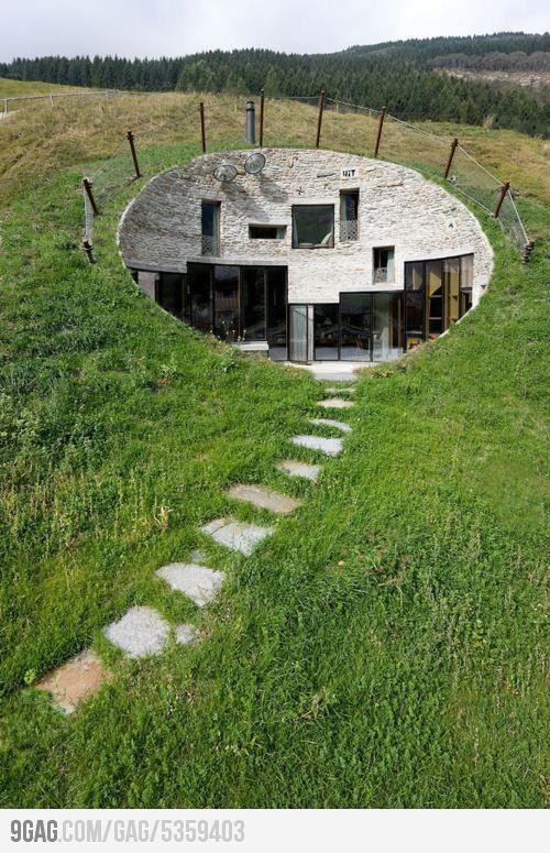 Underground House in Switzerland