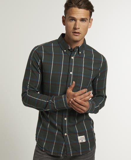 #Superdry Oxford Check Shirt, new for AW13