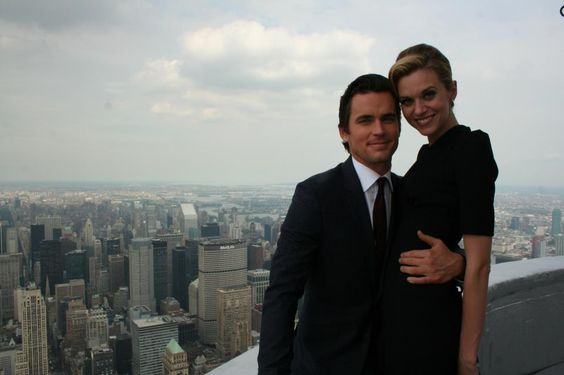 March 6 2013 filming the season finale of white collar for 103rd floor empire state building