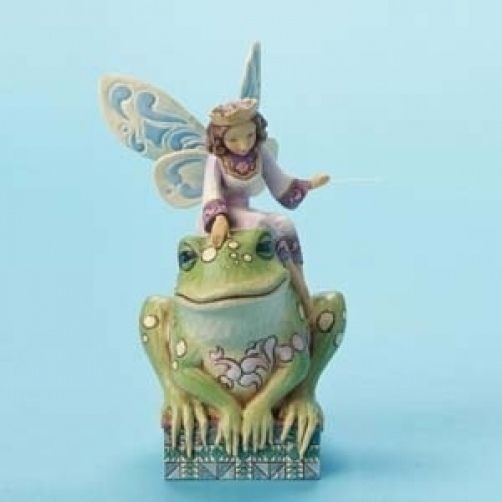 Jim Shore Heartwood Creek Fairy Princess with Frog 4014980