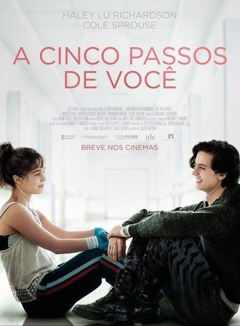 Poster Nacional De A Cinco Passos De Voce Filme Com Haley Lu
