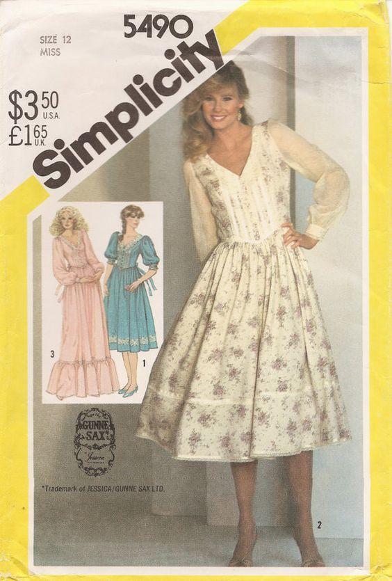 Gunny Sack dress like Mom made for my 8th grade graduation. - My ...