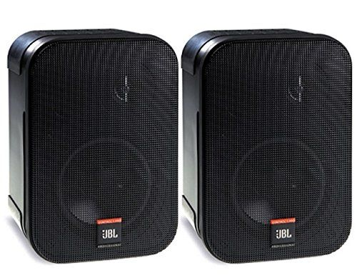 Jbl Control 1 Pro High Performance 2 Way Professional Compact Loudspeaker System Black Sold As Pair Jbl Loudspeaker Portable Dvd Player