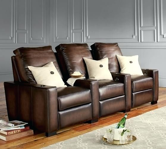 Pottery Barn Turner Leather Sofa Reviews Turner Square Leather Media Row Of 3 Pottery Barn Turner Lea Upholstered Sectional Upholstered Sofa Sit Back And Relax