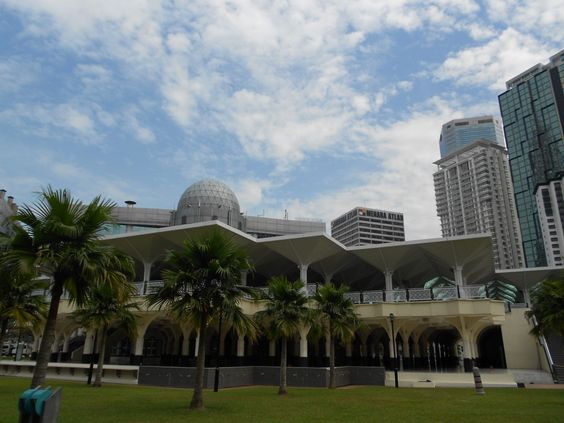 Masjid Asy-Syakirin Mosque Kuala Lumpur, Malaysia