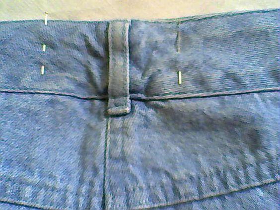 46511802 Tutoriel: reprendre un jean à la taille