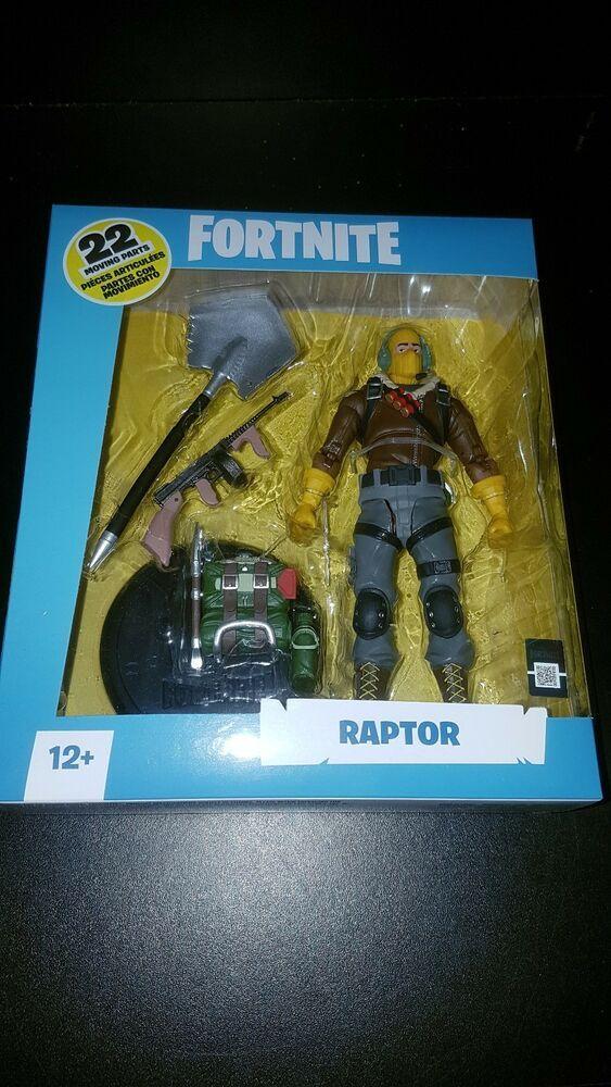 Fortnite Raptor Action Figure McFarlane Toys IN STOCK