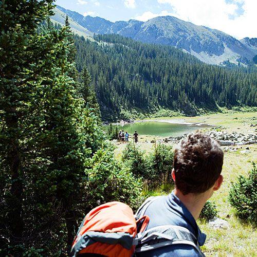 4 ways to explore Taos, New Mexico -- #hike to Williams Lake