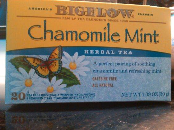 Chamomile mint! Taste great and is good for colds
