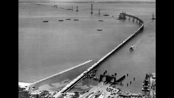 Then: Chesapeake Bay Bridge