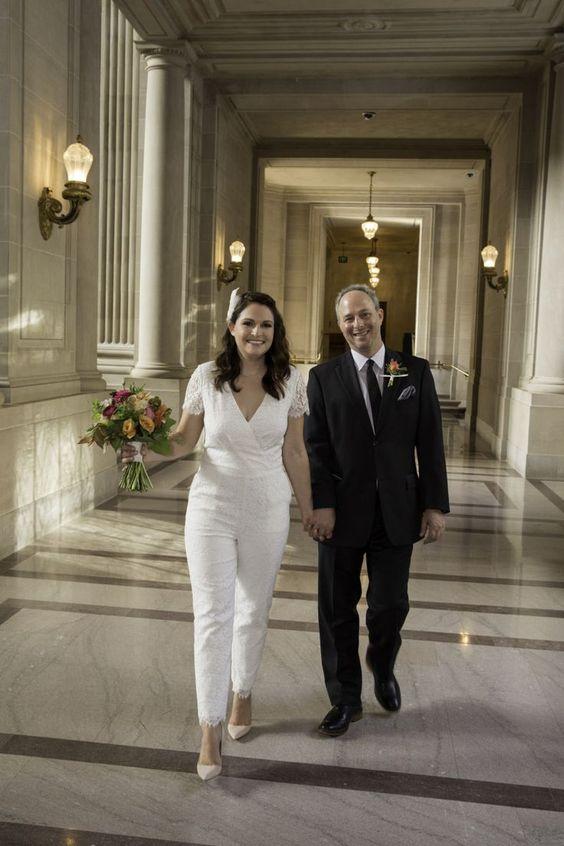 Parfait pour un #mariage au palais de justice!