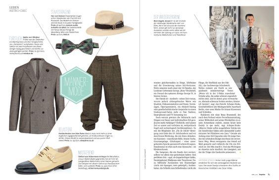 Die Rückkehr der #Dandys, #Impulse Magazin: #Oxford von Vickermann & Stoya Maßschuhe. #Retro #Chick