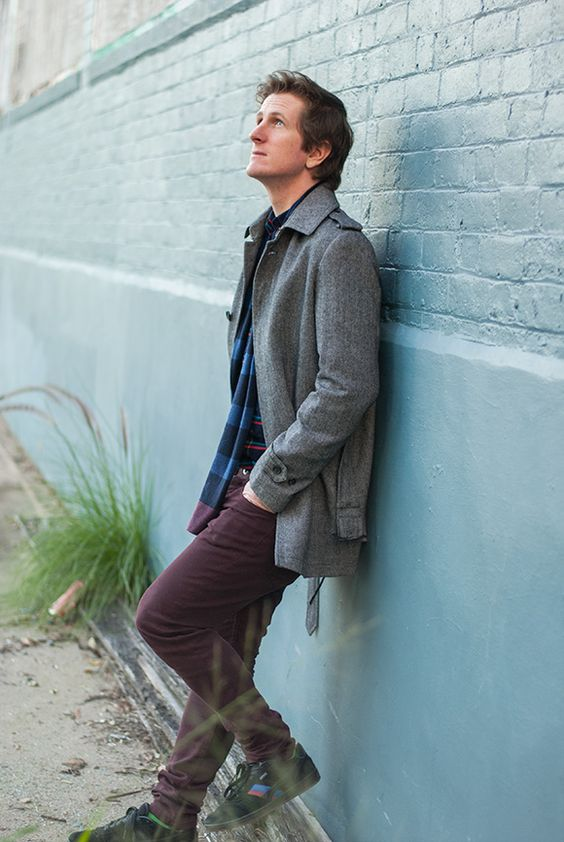 Gibson coat and Industrie pants and scarf, mens fashion Brisbane