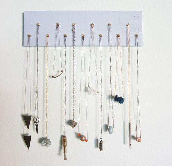 jewellery hooks pinterest - Google-sk | Lure tips/ DIY | Pinterest | Diy  jewelry holder, Jewellery holder and Diy kid jewelry