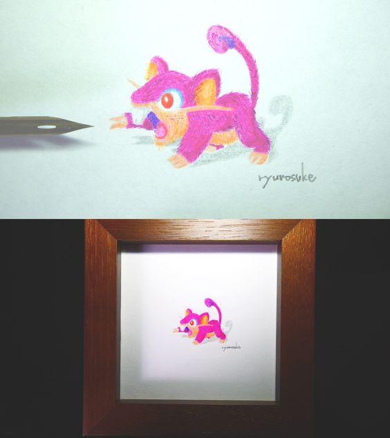 #pokemon #go #Rattata #art #ポケモン #コラッタ #ポケモン図鑑 #Pokedex  #イラスト #illustration #ryunosuke #factory #ぬりえ Blogger Ryunosuke Factory [ ポケモン図鑑ミニチュアぬり絵 Pokédex art for bugs ]のブログ   https://pokemon-picturebook.blogspot.jp/p/pokemon-art-for-bugs.html