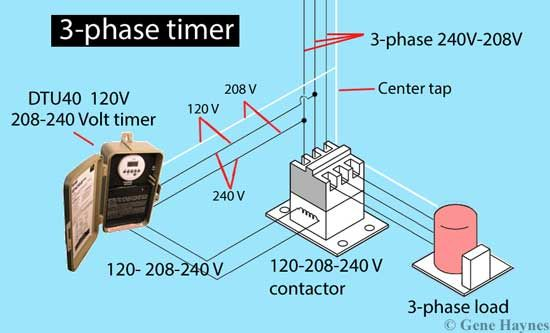 How To Wire 3 Phase In 2020 Electrical Engineering Books Electrical Projects Power Engineering