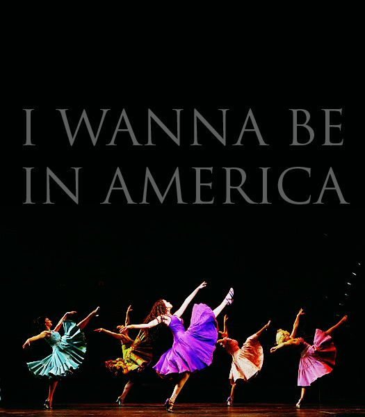 Dance on a Broadway stage - my top choices were West Side Story, Chicago and A Chorus Line :)