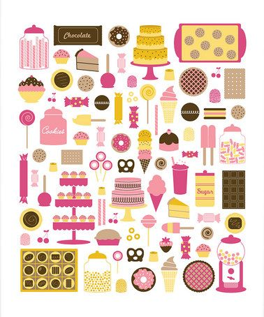 love this print for a girl's room!