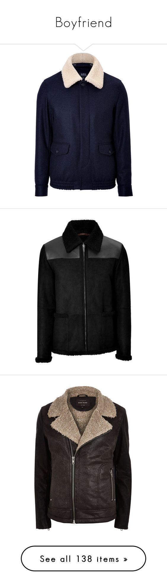 """Boyfriend"" by irisneline ❤ liked on Polyvore featuring men's fashion, men's clothing, men's outerwear, men's coats, men's jackets, nick hudson, black, jackets, sale y outerwear"
