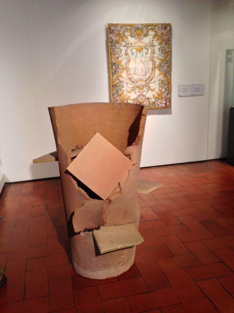 Terra Ignis. Miquel Barceló. Inauguración de la exposición en el Museo Nacional del Azulejo de Lisboa. 24 septiembre 2013