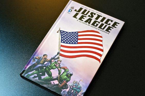 [Arrivage] Justice League Tome 4 : La Ligue de Justice d'Amérique