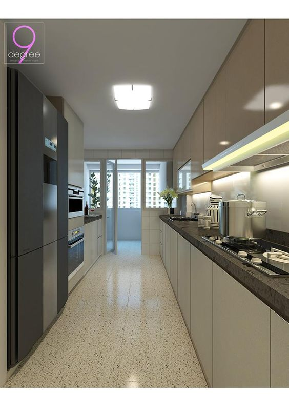 Nice HDB BTO 4 Room  30k   Blk 671 Punggol Waterway Banks   Interior Design  Singapore   Most Sizzling Kitchens   Pinterest   Bank interior design   nice HDB BTO 4 Room  30k   Blk 671 Punggol Waterway Banks  . Hdb 4 Room Kitchen Design. Home Design Ideas