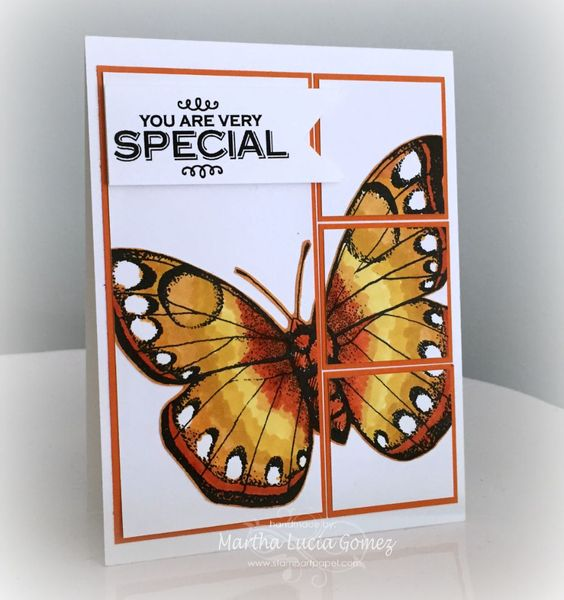 UNA MARIPOSA MUY ESPECIAL - Digital File from Hero Arts available in A2Z Scrapbooking Supplies