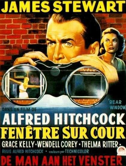 FENÊTRE SUR COUR d'Alfred Hitchcock (1954)