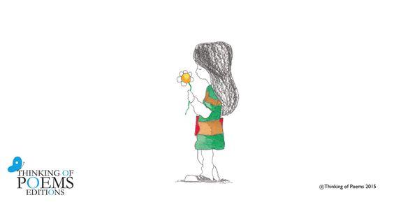 La niña cogió la flor, soplo sus pétalos, pidió un deseo