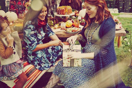 Blake Lively Had The Perfect Fall Baby Showeru2014See The Pics! | Fall Baby  Showers And Fall Baby