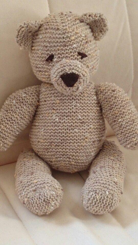 Dorable Gest Teddy Muster Frei Model - Decke Stricken Muster ...