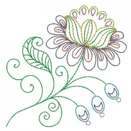 Line Art Embroidery : Machine embroidery designs design and cross stitch on