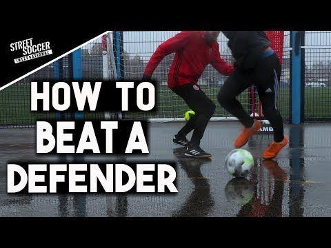How To Beat A Defender 1v1 3 Tips Youtube Street Soccer Football Drills Defender