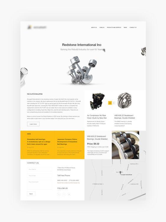 Main Jpg By Nikitin Clean Web Design Psd Template Free Free Ecommerce