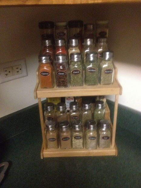 make a nice spice rack on the cheap spice racks nice and pictures of. Black Bedroom Furniture Sets. Home Design Ideas