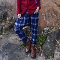 Johnature 2016 Nouveau Coton Lin Femmes Pantalon Style Coréen Épaissie Laine…