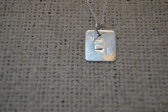 Sterling Silver Scrabble  Tile ( chain shown not included) £10.00