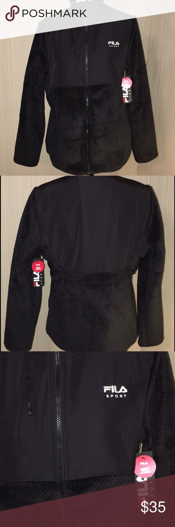 New Fila Sport Soft Fleece Jacket Large New with tags!!! Super ...