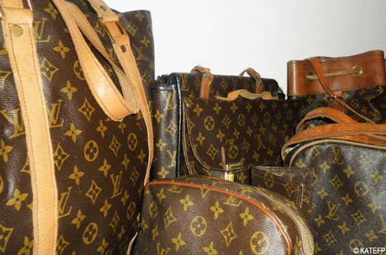 Special Louis Vuitton made by Kate's dear grandpa *.* http://www.katefp.com/2012/02/welcome-to-my-closet.html