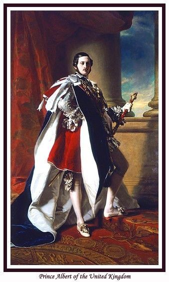 PRINCE ALBERT OF THE UNITED KINGDOM ART PRINT. BRITISH ROYALTY. QUEEN VICTORIA