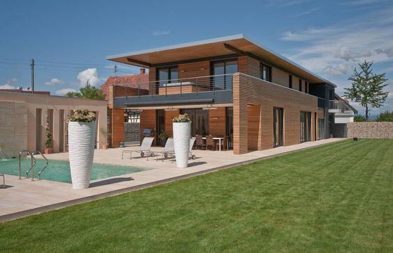 Modernistyczne domy od Grossmann Architekten