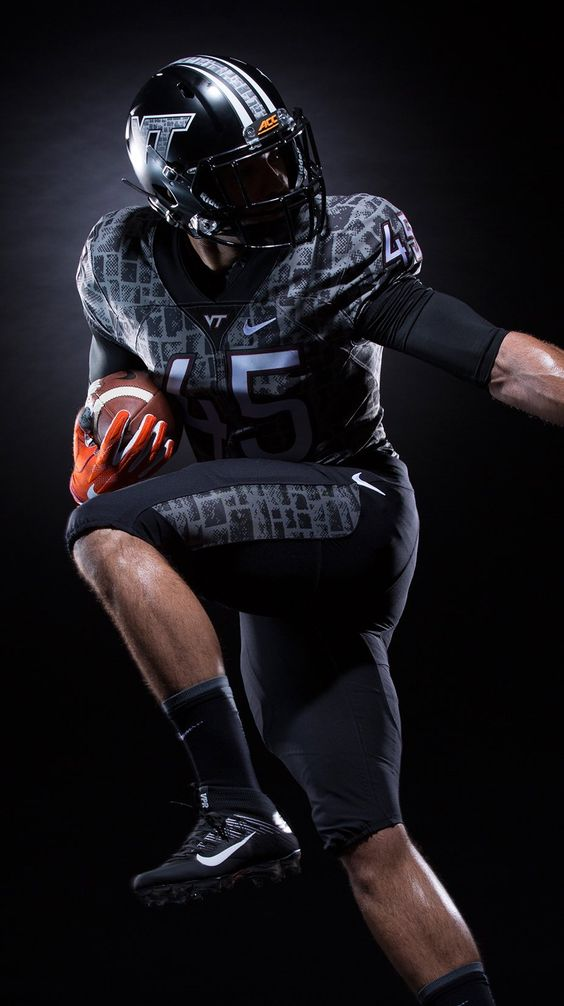 "Virginia Tech Hokies 2016 ""Battle at Bristol"" alternative football uniforms, inspired by Hokie stone and the Corps of Cadets"