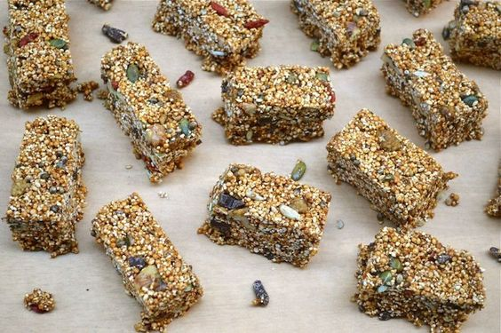 Malted SuperFood Bars – Energy Boosting and Quick to Make by @choclette for #SumaBloggersNetwork