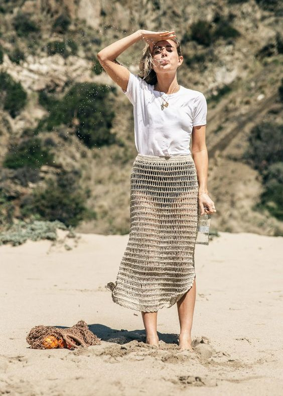 These 8 Trends Are Definitely Going to Be on the Coolest Beaches in 2018 via @WhoWhatWearUK