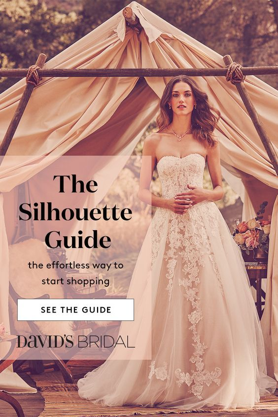 Visit Davidsbridal Com For Info On Wedding Dress Silhouettes The Ball Gown Pairs A Fitted Bodice W Ball Gowns Wedding Wedding Dress Silhouette Wedding Dresses