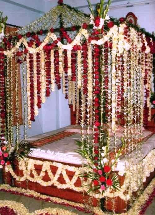 Pin By Ps Surajit On Surajit Das Wedding Room Decorations Flower Room Decor Wedding Night Room Decorations