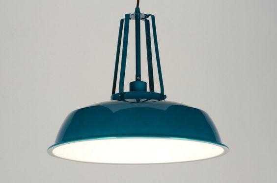 hanglamp 71844 modern retro industrie look metaal rond. Black Bedroom Furniture Sets. Home Design Ideas