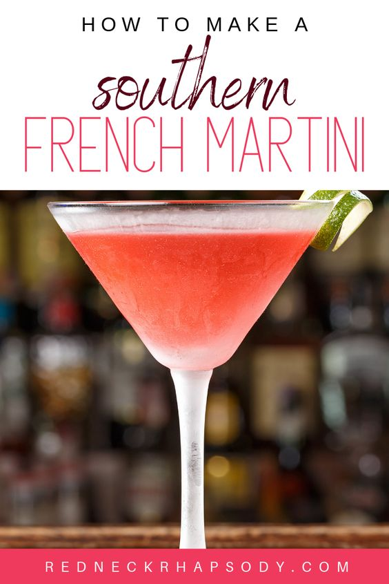 How to Make a Southern French Martini