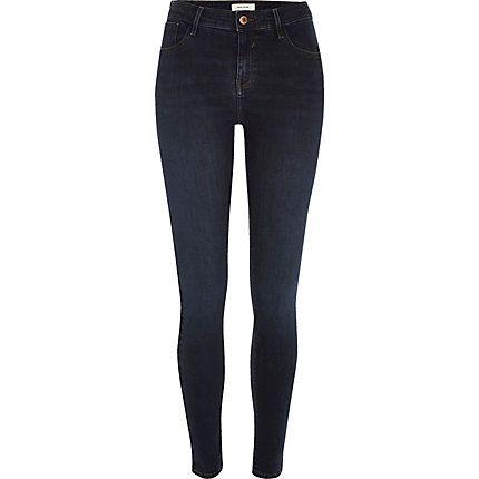 Dark wash Amelie super skinny jeans $80.00