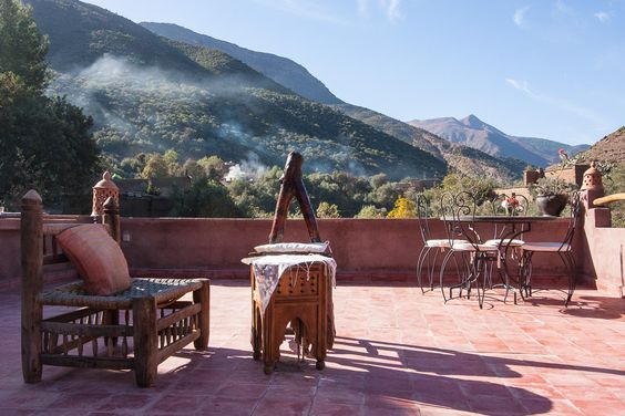 #terrasse #yoga #marrakech #salamaayurveda